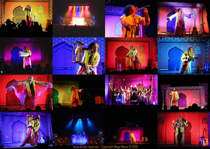 Spectacle aux couleurs des Mille et une Nuits - LA CARAVANE DU BALBOUGEBAL par Mega Mome