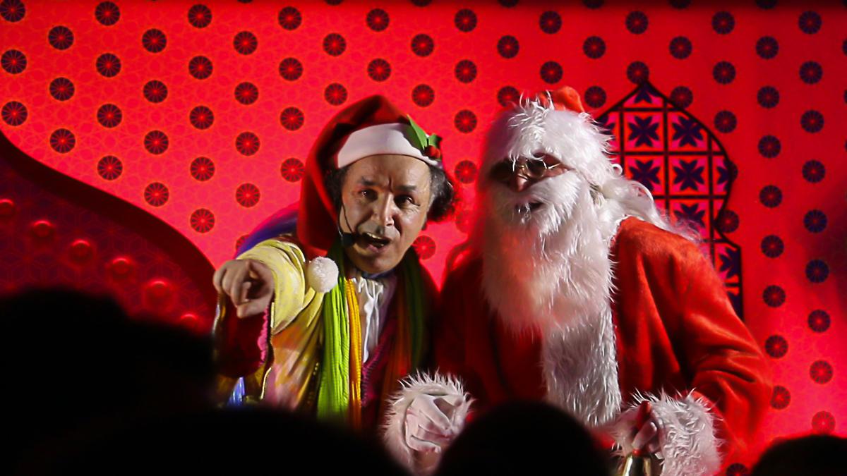 Féerie de Noël et Mille et Une Nuits