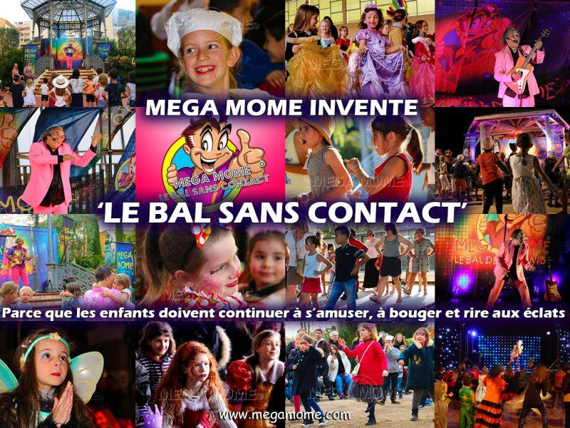 Mega Mome invente le bal des enfants - sans contact